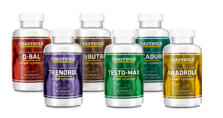 Crazy bulk legal steroids stack