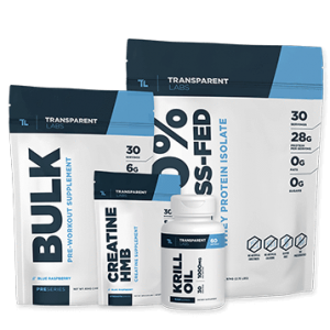 Transparent labs muscle building essentials stack