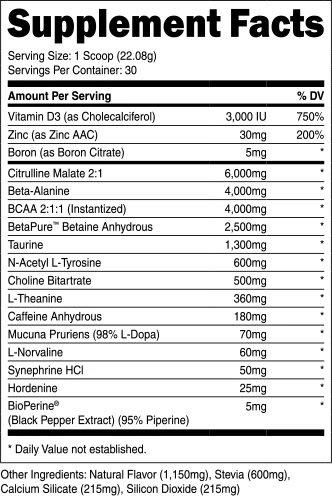 transparent labs preseries bulk ingredients