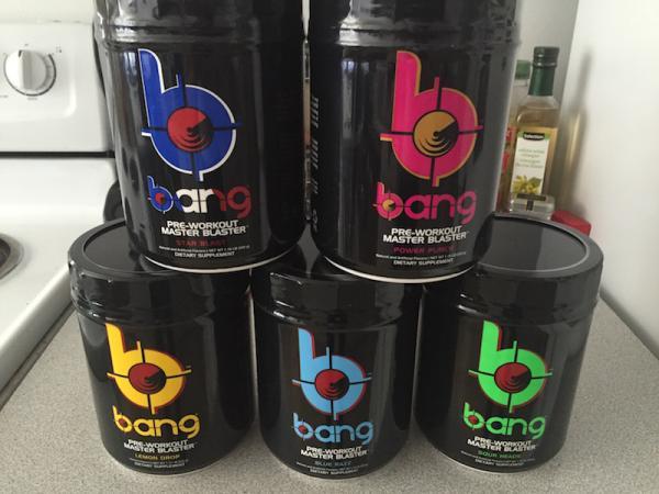 Bang Pre Workout review